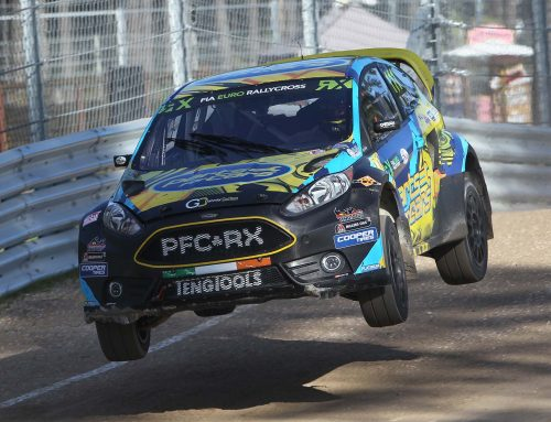 Latvian semi-final rewarded with seventh overall in Euro RX for Tohill