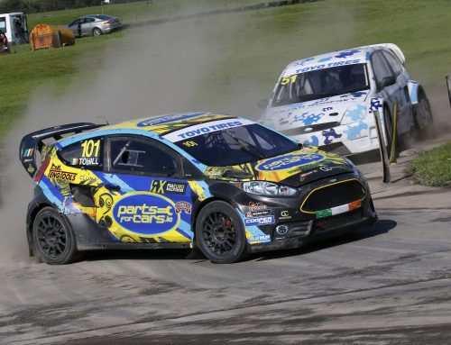 Hard-fought Pembrey win keeps Tohill in British RX title frame